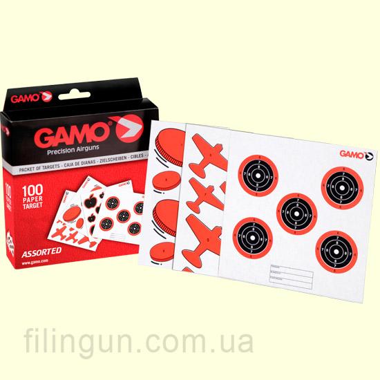 Мишень Gamo Assorted 100 Targets