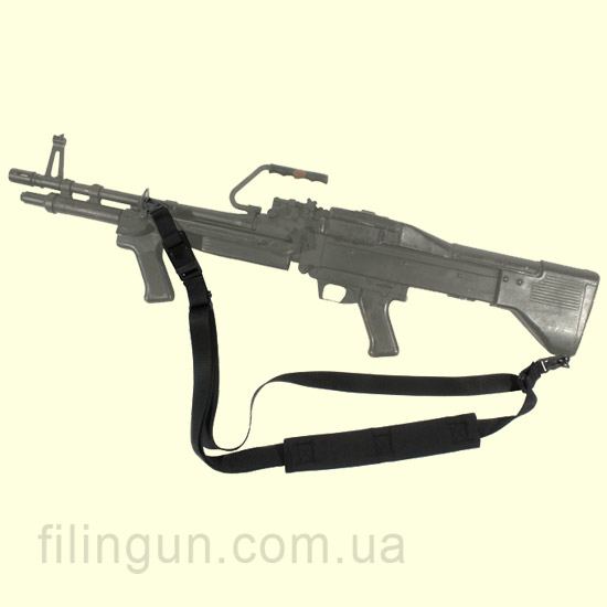 Ремень BLACKHAWK! Swift Machine Gun Sling (S.A.W./M-240/M-60) Black