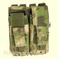 Подсумок Skif Tac для 2х магазинов АК/AR, 2x пистолетных A-Tacs FG