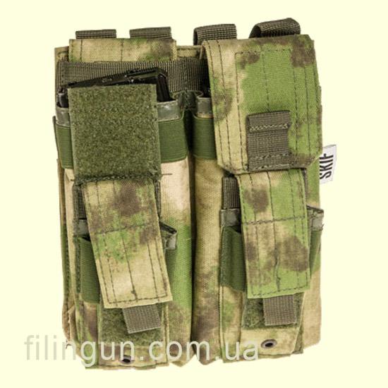 Підсумок Skif Tac для 2х магазинів АК/AR, 2x пістолетних A-Tacs FG