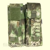 Підсумок Skif Tac для 2х магазинів АК/AR, 2x пістолетних Kryptek Green
