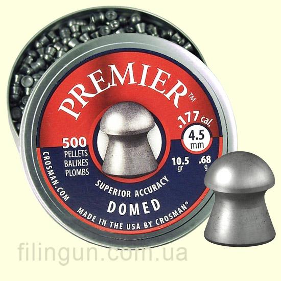 Пули для пневматического оружия Crosman Premier Domed - фото