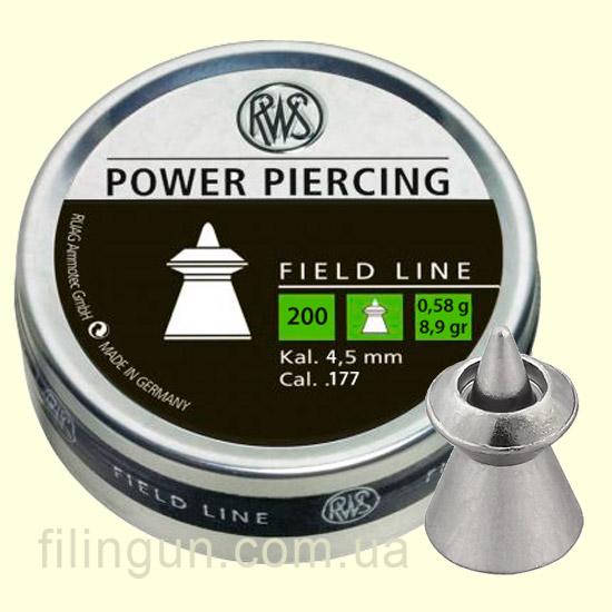Пули для пневматического оружия RWS Power Piercing 0,58g