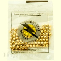 Кульки кульова блискавка оцинковані 100 шт