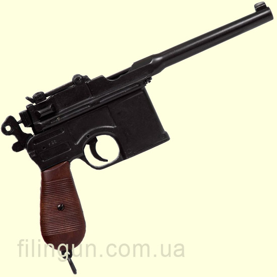 Макет пистолета Mauser С96 Germany 1896 Denix 1024 - фото