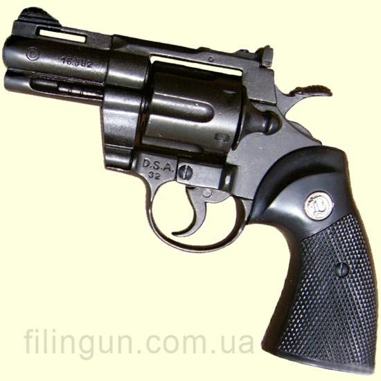 """Макет револьвера Python 2"""" USA 1955 Denix 1062 - фото"""