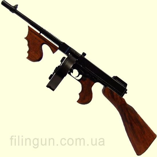 Макет пістолета-кулемета Thompson M1928 (1928 р.) Denix 1092 - фото