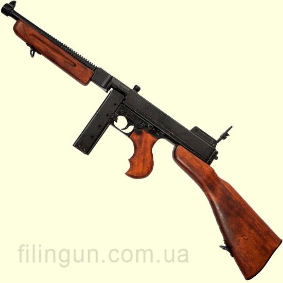 Макет пистолета-пулемета Thompson M1928A1 (1941 г.) Denix 1093