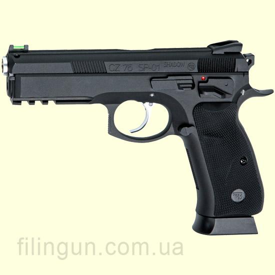 Пистолет пневматический ASG CZ SP-01 Shadow Blowback - фото