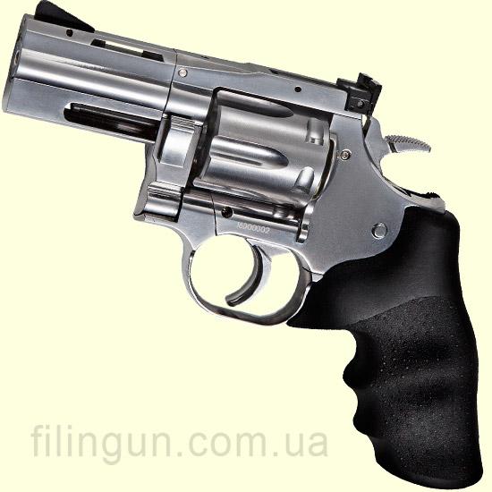 "Пневматичний револьвер ASG Dan Wesson 715 2,5"" Pellet Silver - фото"