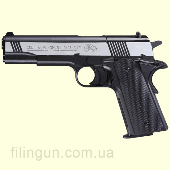 Пневматический пистолет Colt Government M1911 A1 Dark OPS