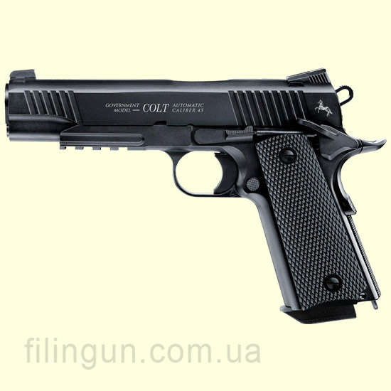 Пневматический пистолет Colt M45 CQBP Black