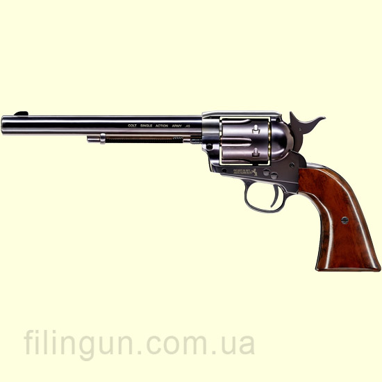 "Пневматический револьвер Colt SAA .45-7.5"" blued"