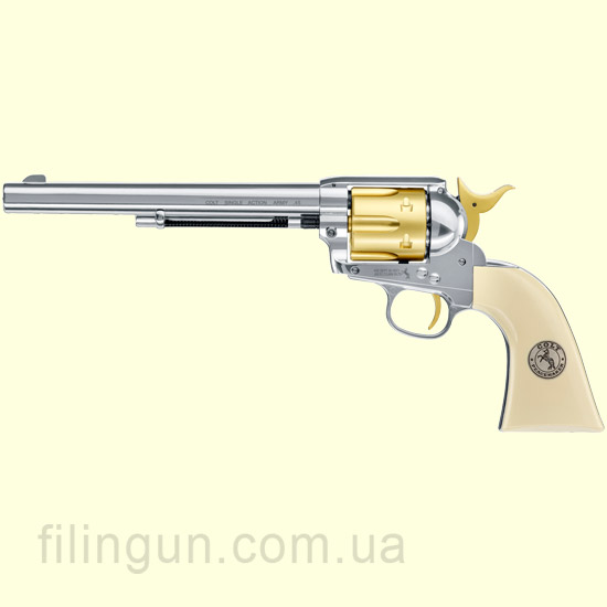"Пневматический револьвер Colt SAA .45-7.5"" Gold Edition"