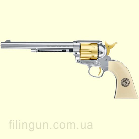 """Пневматичний револьвер Colt SAA .45-7.5"""" Gold Edition"""