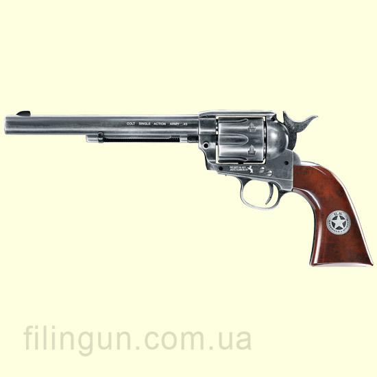 "Пневматический револьвер Colt SAA .45-7.5"" US Marshal"