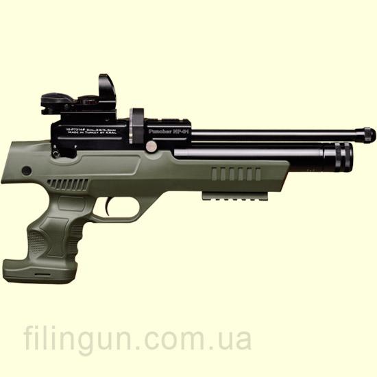 Пистолет пневматический Kral Puncher NP-01 PCP Olive