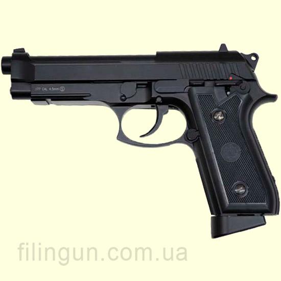 Пневматичний пістолет KWC Beretta M92 KMB-15 AHNS full metal BLOWBACK