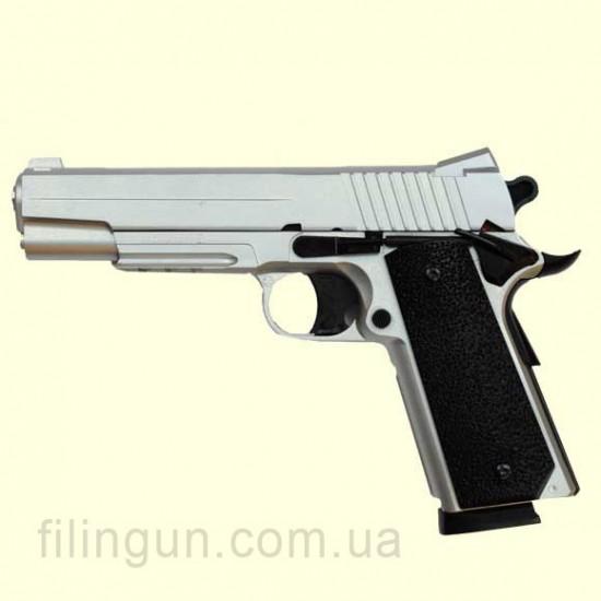 Пневматический пистолет KWC Colt 1911 KM42(ZS) Silver