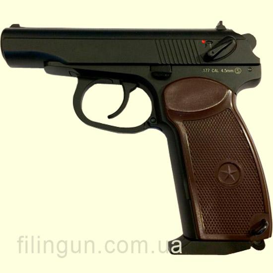 Пневматичний пістолет KWC Makarov Blowback