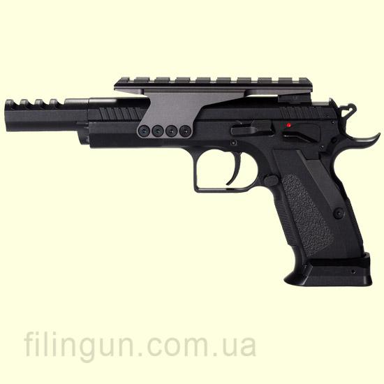 Пневматический пистолет KWC Tanfoglio Gold Custom KMB89AHN Blowback