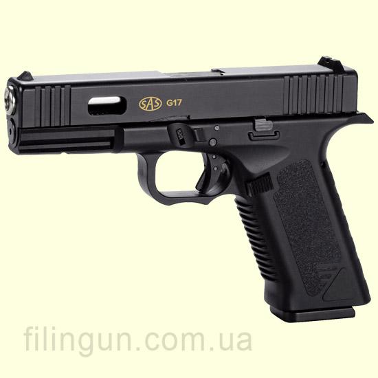 Пистолет пневматический SAS G17 Glock 17 Blowback