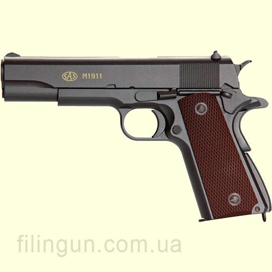 Пістолет пневматичний SAS M1911 Pellet