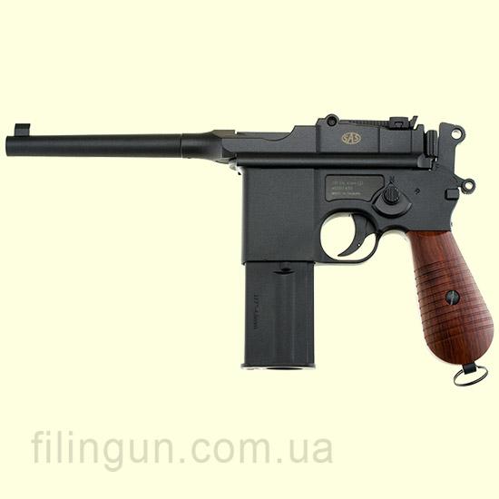Пистолет пневматический SAS Mauser M712 Blowback (KMB18DHN)