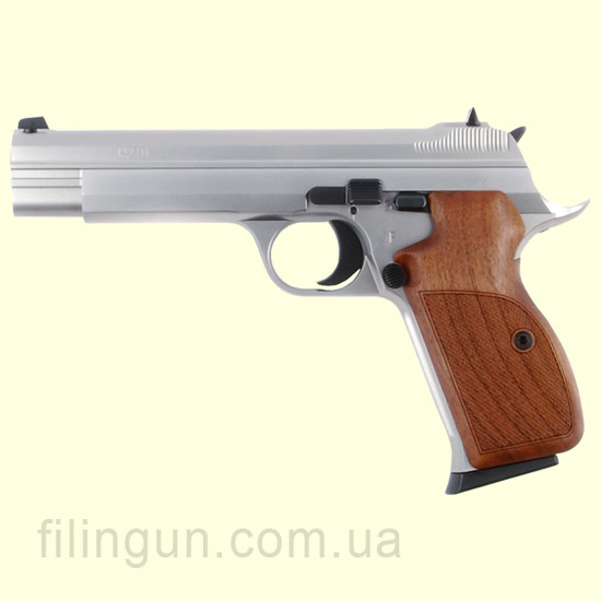 Пистолет пневматический SAS P 210 Silver Blowback (P210BBS)