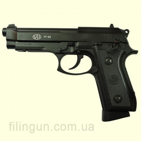 Пистолет пневматический SAS PT99 Beretta M92 KMB-15 AHNS Blowback
