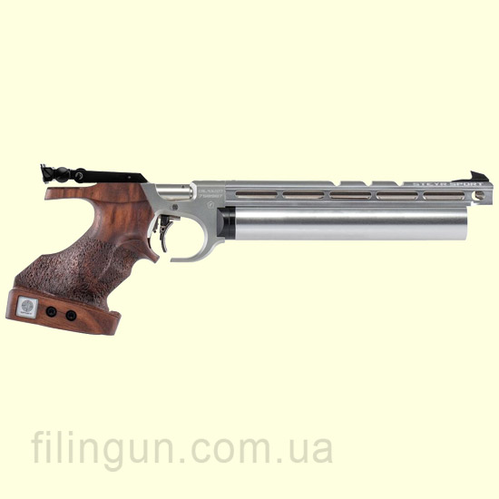 Пневматичний пістолет Steyr evo 10 Silver grip size M