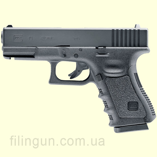 Пистолет пневматический Umarex GLOCK 19 - фото
