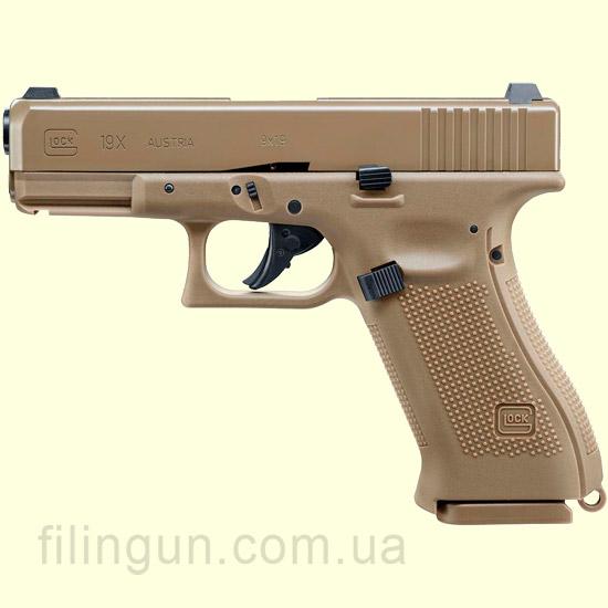 Пистолет пневматический Umarex GLOCK 19X Blowback