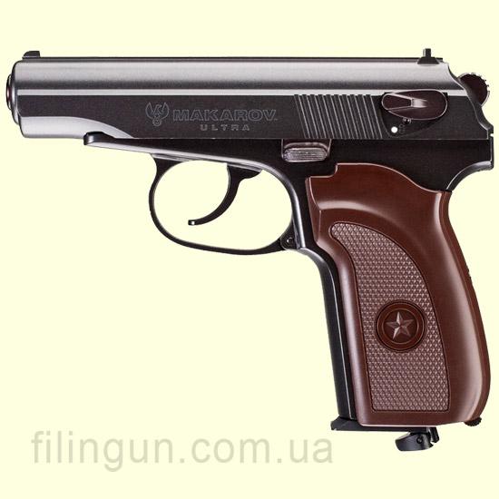 Пневматический пистолет Umarex Makarov Ultra Blowback