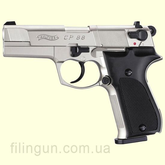 Пневматичний пістолет Walther CP88 Nickel