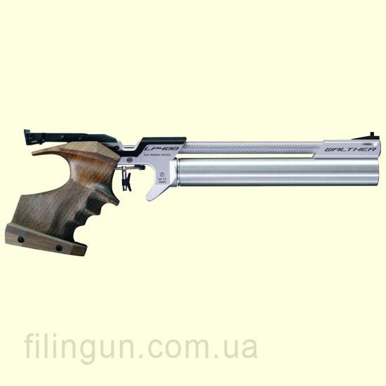 Пневматичний пістолет Walther LP400 Carbon right, Memory 3D-grip size M