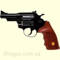Револьвер под патрон Флобера Alfa мод 431 (вороненный, дерево)