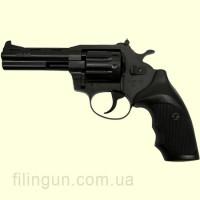 """Револьвер под патрон Флобера Alfa мод 441 4"""" (вороненный, пластик)"""