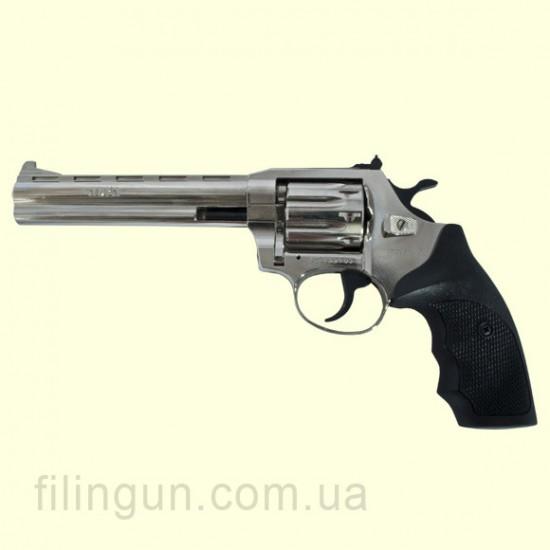 "Револьвер під патрон Флобера Alfa мод 461 6"" (нікель, пластик)"