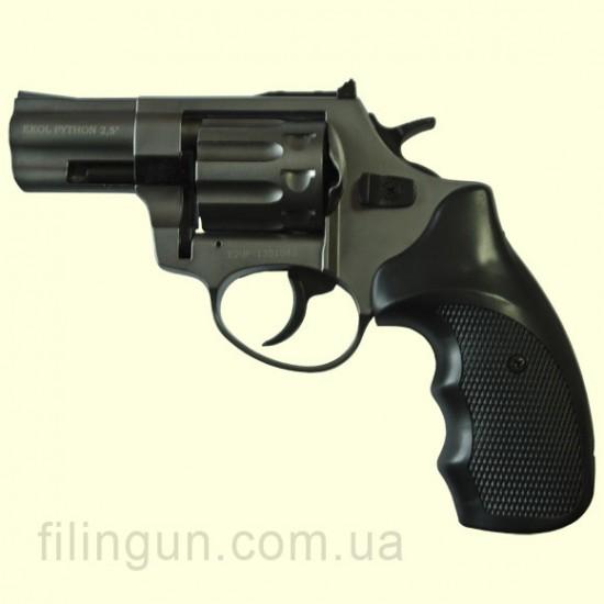 """Револьвер под патрон Флобера Ekol Python 2,5"""" Titanium"""