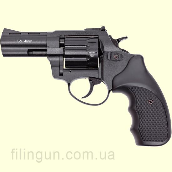 "Револьвер под патрон Флобера Stalker 3"" Black - фото"