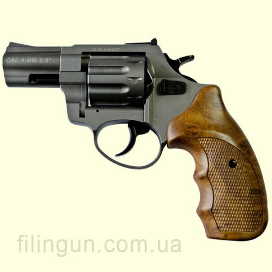 """Револьвер под патрон Флобера Meydan Stalker Titanium 2.5"""" wood"""