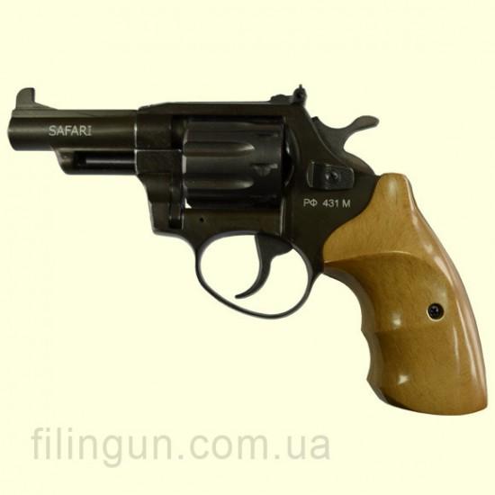Револьвер під патрон Флобера Safari (Сафарі) РФ 431М бук