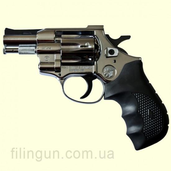 "Револьвер під патрон Флобера Weihrauch Arminius HW4 2,5"" хром"