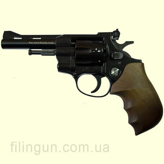 """Револьвер под патрон Флобера Weihrauch Arminius HW4 4"""" дерево"""