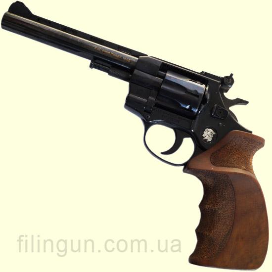 """Револьвер под патрон Флобера Weihrauch Arminius HW4 6"""" дерево"""