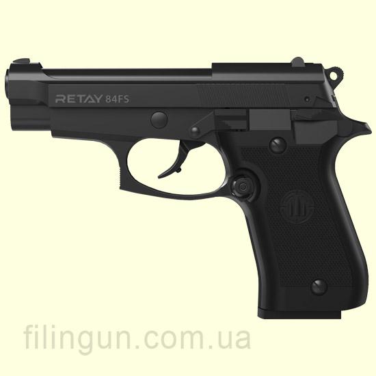 Пістолет стартовий Retay 84FS Black