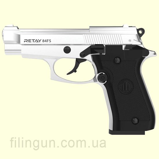 Пістолет стартовий Retay 84FS Nickel