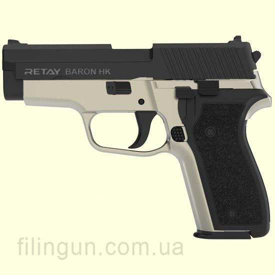 Пістолет стартовий Retay Baron HK Black/Satin