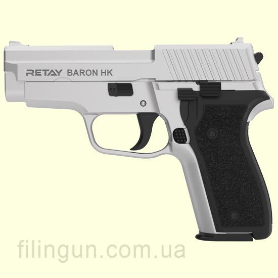 Пистолет стартовый Retay Baron HK Chrome